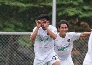 Stallion's Fitch Arboleda: The story behind his 'binoculars' goal celebration
